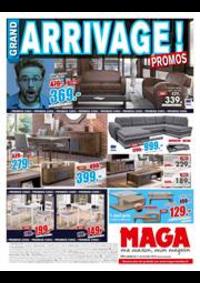 Prospectus Maga Meubles Dompaire : Arrivage de promos