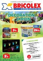 Prospectus Bricolex : Décoration et jardin