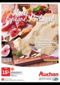 Prospectus Auchan BESSONCOURT : Italie, Espagne, Portugal. Un voyage culinaire, sans bouger de chez vous.