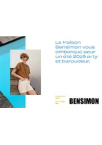 Prospectus Bensimon Boulogne : Lookbook Printemps Été