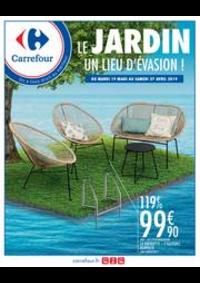 Prospectus Carrefour ANGERS C.C Grand Maine : LE JARDIN UN LIEU D'EVASION