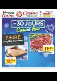 Prospectus Supermarchés Casino BAGNEUX : Les 30 jours Casino live