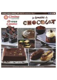 Prospectus Supermarchés Casino PARIS 77 Rue de Flandre : La semaine du chocolat