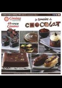 Prospectus Supermarchés Casino PARIS 16 Rue des Belles Feuilles : La semaine du chocolat