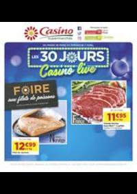 Prospectus Supermarchés Casino VILLEJUIF : Les 30 jours Casino live