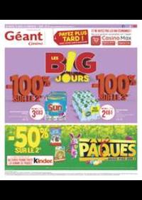 Prospectus Géant Casino BESANÇON : Les B!G jours