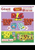 Prospectus Géant Casino : Les B!G jours