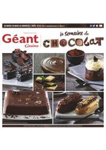 Prospectus Géant Casino : La semaine du chocolat