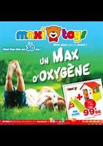 Prospectus Maxi Toys : Max d'oxygene
