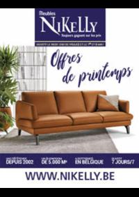 Prospectus Meubles Nikelly : Offres de printemps