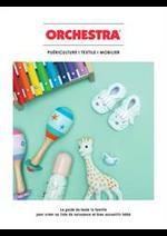 Prospectus Orchestra : Puériculture i textile i mobilier