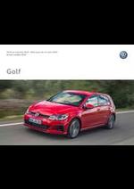 Promos et remises  : Volkswagen Golf
