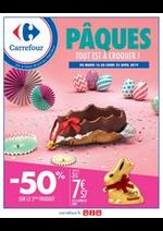 Prospectus Carrefour : PÂQUES TOUT EST A CROQUER !