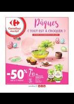 Prospectus Carrefour Market : Pâques, tout est à croquer