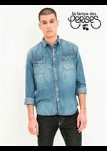 Prospectus Le temps des cerises : Collection Chemises / Homme