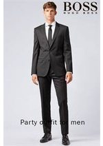 Prospectus Hugo Boss : Party outfit for men