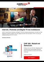 Prospectus  : Internet-, Festnetz und Digital TV bei mobilezone