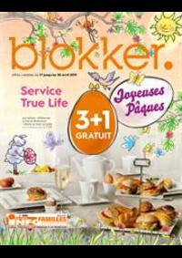 Prospectus BLOKKER Waver : Blokker depliant avril