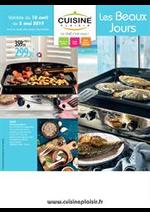 Prospectus Cuisine plaisir : Les beaux jours