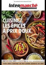 Prospectus Intermarché Super : CUISINEZ LES ÉPICES À PRIX DOUX.