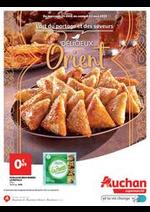 Prospectus Auchan Supermarché : Délicieux Orient