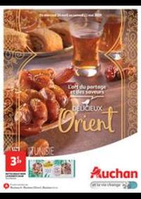 Prospectus Auchan Drive VELIZY : Délicieux Orient