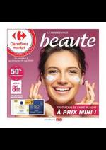 Prospectus Carrefour Market : Le rendez-vous beauté