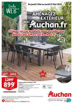 Prospectus Auchan : Aménagez votre extérieur avec Auchan.fr