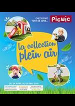 Prospectus Picwic : La collection plein air