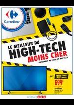 Prospectus Carrefour : LE MEILLEUR DU HIGH-TECH MOINS CHER