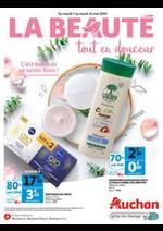 Prospectus Auchan drive : La beauté tout en douceur