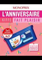 Prospectus Monoprix : L'anniversaire Kiffe fait plaisir