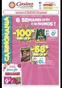 Prospectus Supermarchés Casino PARIS 32 Boulevard Vaugirard : 6 semaines de fête et de promos !