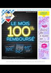 Prospectus Leader Price Saint-Brice-sous-Forêt : Le mois 100% remboursé
