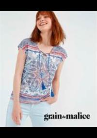 Prospectus Grain de Malice Bry-sur-Marne : Collection T-Shirts