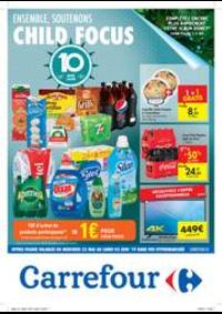 Prospectus Carrefour BERCHEM STE AGATHE : Ensemble, soutenons Child Focus