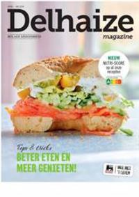 Prospectus Supermarché Delhaize Tubize : Delhaize Magazine Mix&Match