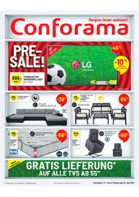 Prospectus Conforama Alchenflüh : Pre-Sale!!!