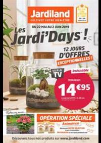 Prospectus Jardiland BESSONCOURT : Les Jardi' days!