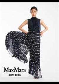 Prospectus Max Mara Paris 16 : Nouveautés