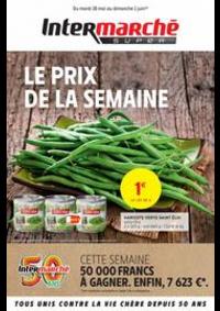 Prospectus Intermarché Super Villeneuve Saint-Georges : LE PRIX DE LA SEMAINE