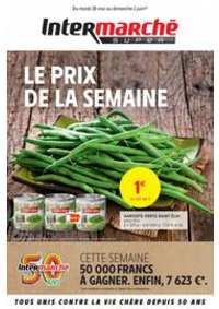 Prospectus Intermarché Super Bartenheim : LE PRIX DE LA SEMAINE