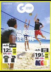 Prospectus Go Sport CARRE SENART : Objectif Détente