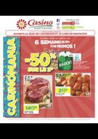 Prospectus Supermarchés Casino DEUIL LA BARRE : 6 semaines de fête et de promos !