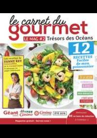 Prospectus Géant Casino : Le carnet du gourmet