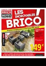 Prospectus Brico Dépôt : LES INCROYABLES BRICO !