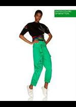 Prospectus Benetton : Collection Vert