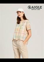 Prospectus Aigle : Chemises Femme