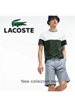 Catalogues et collections Lacoste : New Collection Men