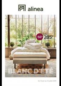 Prospectus Alinéa NANCY - FLEVILLE : Blanc D'été